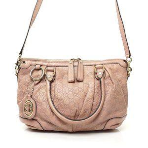 Auth Gucci Bag Sukey Guccissima Medium #4000G23